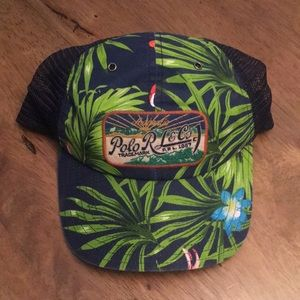 Tropical Polo Baseball Hat